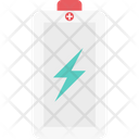 Battery Charging Thunder Battery Icon