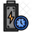 Battery Charging Time Icon