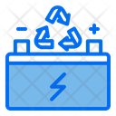 Battery Cycle Battery Power Icon