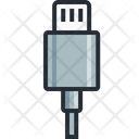 Battery Data Cable Icon