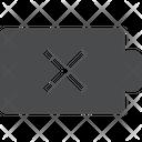 Battery Dead Icon