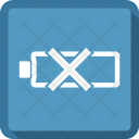 Battery discharge Icon