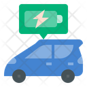 Battery Electric Vehicle Bev Vehicle Icon