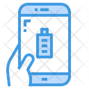 Battery Full Smartphone Icon