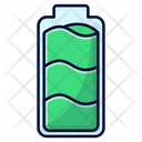 Battery Fully Loaded Battery Full Fully Charged Icon