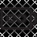 Battery Infinite Icon
