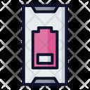 Battery Low Notification Alert Icon