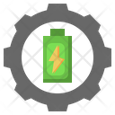 Battery Setting Charging Setting Battery Configuration Icon