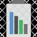Battery Status Mobile Icon