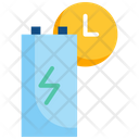 Battery Time Icon