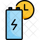 Battery Charge Electricity Icon