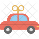Battery Car Toy Icon