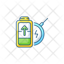 Battery Wireless Charging Battery Wireless Icon