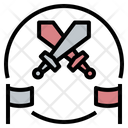 Battle Competition Conflict Icon