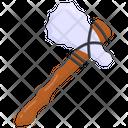 Battle Axe Tool Icon
