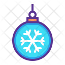 Bauble Christmas New Icon