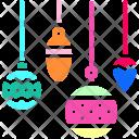 Bauble Festival Decoration Icon