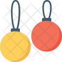 Bauble Decorations Ornaments Icon