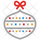 Bauble Christmas Decoration Icon