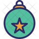 Bauble Bell Christmas Icon