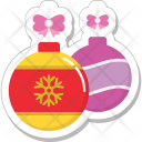 Bauble Decorations Ball Icon