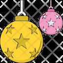 Christmas Decoration Christmas Ornaments Bauble Ball Icon