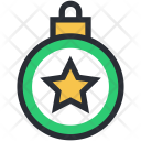 Bauble Christmas Star Icon
