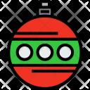 Bauble Holiday Xmas Icon