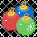 Baubles Decoration Bauble Balls Icon