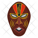 Baule Mask Tribal Mask Cultural Mask Icon