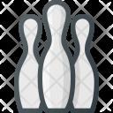 Bawling Pins Pin Icon