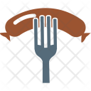 Bbq Barbecue Fork Icon