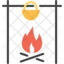 Barbecuem Bbq Camping Icon