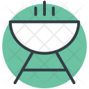 Bbq Charcoal Grill Icon