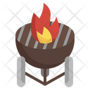 Bbq Grill Travel Icon