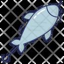 Bbq Fish Seafood Barbecue Icon