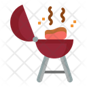Bbq Grill Meat Icon