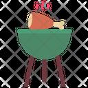Bbq Pot Icon