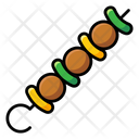 Bbq Skewer Icon