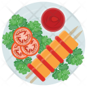 Chicken Shashlik Sticks Icon