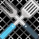 Bbq Tool Set Icon