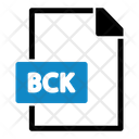 Bck File Type File Format Icon