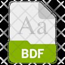 Bdf file Icon
