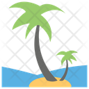 Beach Sea Sight Tropical Place Icon