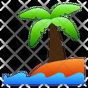Beach Coconut Sea Icon