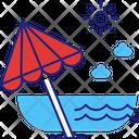Beach Summer Sea Icon