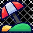 Beach Travel Buke Icon
