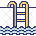 Beach Pool Swimming Icon