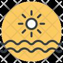 Beach Sun Sea Icon