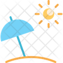 Beach Beach Umbrella Umbrella Icon